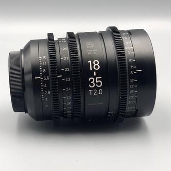 Rent Sigma 18-35mm ZOOM CINE EF Mount T2 Lens.