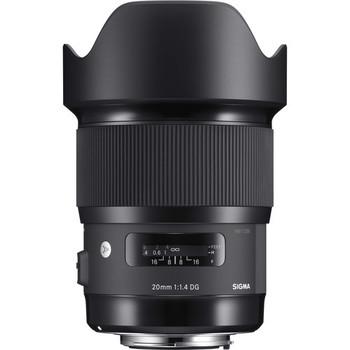 Rent Sigma EF 20mm F1.4