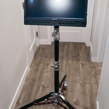 """Rent Flanders Scientific CM171 17"""" Monitor + Rolling Stand, Cables"""