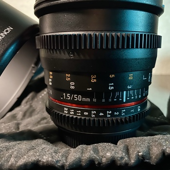 Rent Rokinon Cine DS Lens 50mm T1.5