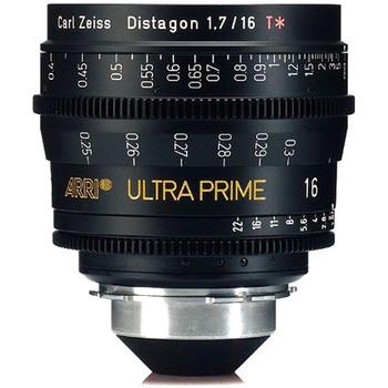 Rent ARRI Zeiss Ultra Prime 16mm T1.9 PL S35