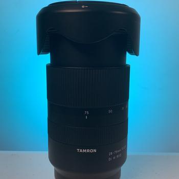 Rent DJI Ronin-S + Sony A7iii + Tamron 28-75mm f2.8 Lens