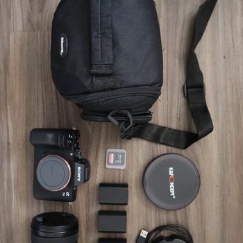 Rent Sony A7III with Sony - FE 24-105mm F4 G OSS Standard Zoom Lens