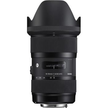 Rent Sigma 18-35mm f/1.8 DC HSM Art Lens (EF)