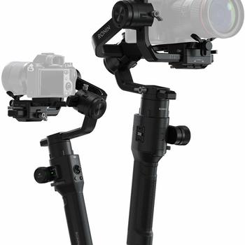 Rent DJI Ronin-S Handheld 3-Axis Gimbal Stabilizer with All-in-One Control for DSLR and Mirrorless Cameras
