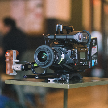 Rent Blackmagic URSA Mini Pro EF/PL + Lenses