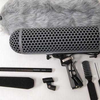 Rent Sennheiser MKH 416 Shotgun Mic w/Blimp & Dead Wombat