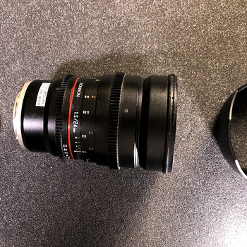 Rent 24mm Cine Lens, Sony Mount, Prime