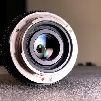 Rent 35mm Cine Lens, Sony Mount, Prime