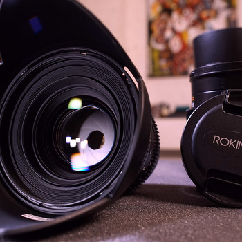 Rent 50mm Cine Lens, Sony Mount, Prime