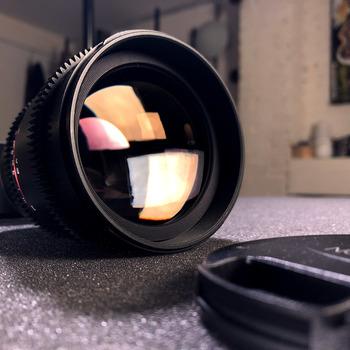 Rent 85mm Cine Lens, Sony Mount, Prime