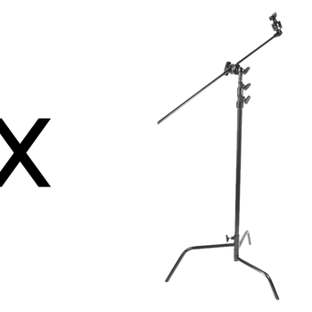 "Rent (1x) Matthews C-Stand (Grip Head, & 40""Arm Kit - 10.5')"