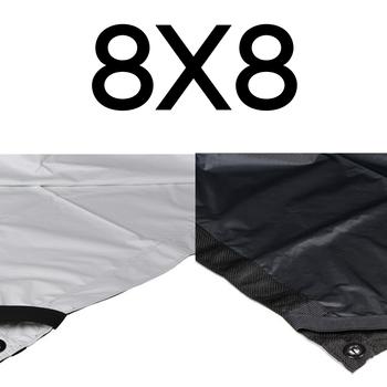Rent Matthews Matthbounce 8x8' Ultrabounce White/Black Fabric