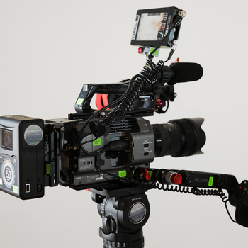Rent Sony PXW-FX9 Full Frame Camera Kit with Tripod and Lenses