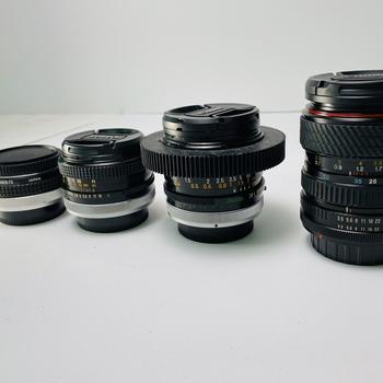 Rent Canon FD Vintage Lens Set w/ adapters
