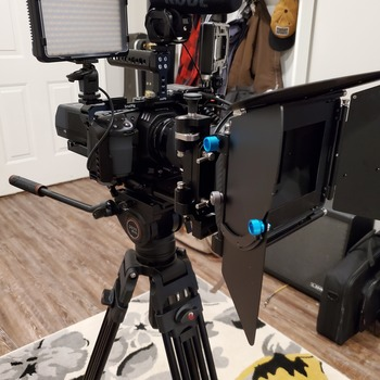 Rent Blackmagic Pocket Cinema Camera 4k  (Full CINE Build)