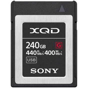 Rent Sony XQD 240GB 440 MB/S