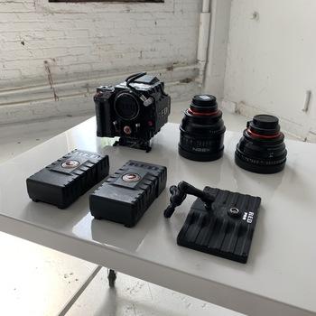 Rent Red Epic 6K Kit/ Xeen 14MM + 50MM Lenses Ready To Shoot