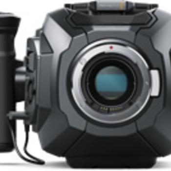 Rent BMD URSA Mini 4k with Rokinon Prime set