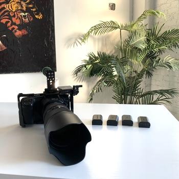 Rent Blackmagic Pocket Cinema Camera 6K + sigma art 50mm-100mm 1.8