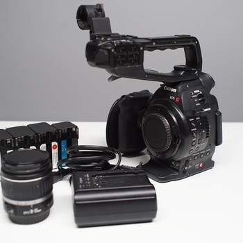 Rent Canon C100 with Auto Focus