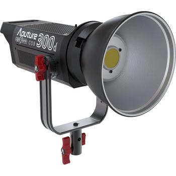 Rent (2) Aputure LS 300d w/ fresnels/barn doors/stands/light domes