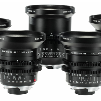 Rent Leica M 0.8 Cine Lens Set
