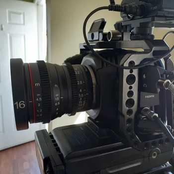 Rent BMCCP 4K Kit w/Cinematic Lens