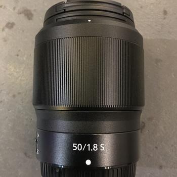 Rent Nikon Nikkor Z 50mm f/1.8 S Prime Lens Z Mount