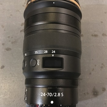 Rent Nikon Nikkor Z Mount 24-70mm f/2.8 S Zoom Lens