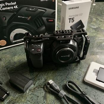 Rent Brand New Blackmagic Pocket Cinema Camera 4K with Accessories
