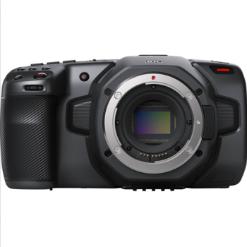 Rent Blackmagic 6K Pocket Cinema Camera - Canon EF Lens Mount