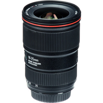 Rent Canon EF 16-35 f/4L IS (Image Stabilization) Lens with UV Filter