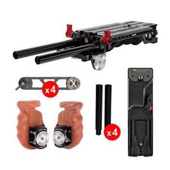 Rent Zacuto VCT Universal Baseplate - Shoulder Rig Kit