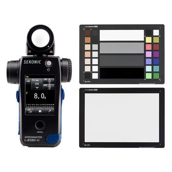 Rent Sekonic L-858D-U Light Meter - Color Checker Kit