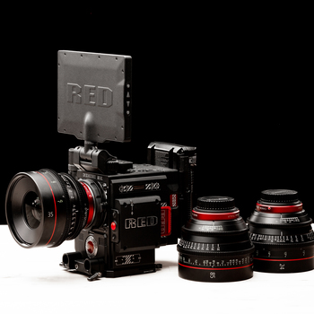 Rent RED Gemini 5K S35 KIT w/ (3) CN-E Primes
