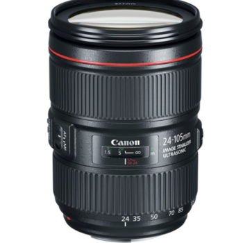 Rent Canon 24-105 f/4 IS II USM Lens + ND9 and Carrying Case