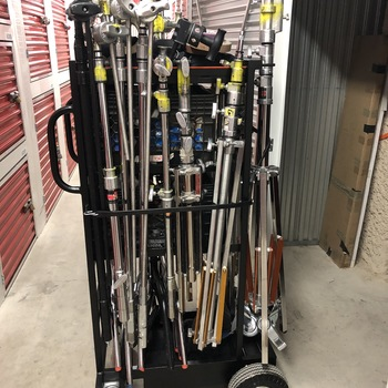Rent C-Stand Cart, Multiple C-Stands Plus Much More Gear
