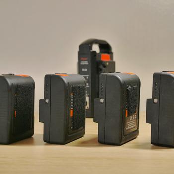 Rent 7x AB Mount Battery Kit: 4x Dynacore 155wh & 3x Anton Bauer HC 89wh