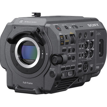 Rent Sony FX9 Full Frame Camera with E Mount / Canon EF / PL Mount
