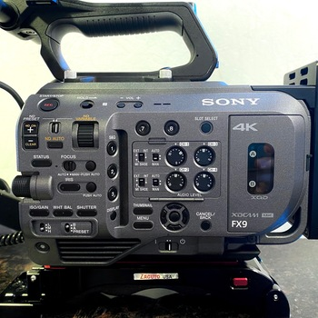 Rent Sony FX9 - Netflix Approved - Full Frame Sensor with Zacuto Shoulder Pad