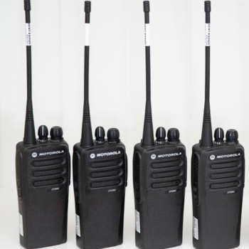 Rent Motorola CP200 Digital Walkie Talkie Radios - Set of 4