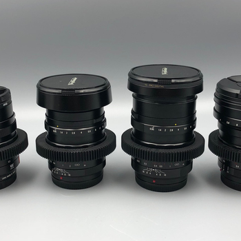 Rent Voigtlander Nokton Cine-moded 4 Lens set. F/0.95 Micro Four Thirds @ 10.5mm, 17mm, 25mm, 42.5mm