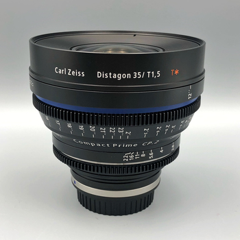 Rent Zeiss CP2 35mm  T1.5  SUPER SPEED  for EF or Sony E-Mount.