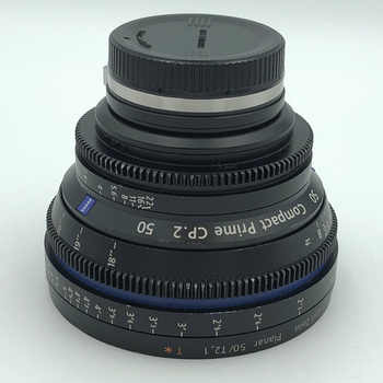 Rent Zeiss CP2 50mm  T2.1 Lens  for EF or Sony E-Mount.