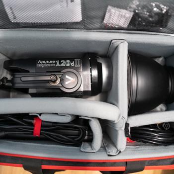 Rent Aputure Light Storm LS C120D II LED Light Kit with V-Mount Battery Plate