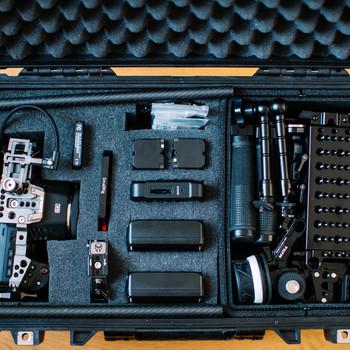 Rent BMPCC6K Pro Kit with Shoulder Rig