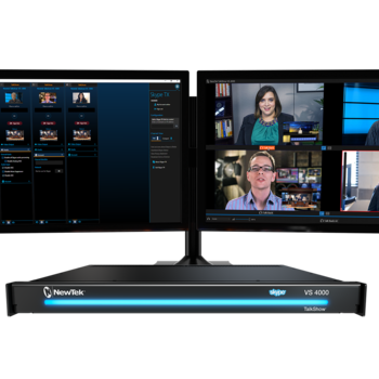 Rent NewTek Talk Show VS-4000: Multi-Channel Video Calling System for Remote Guests
