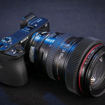 Rent Sony A6500 Camera & Canon EF Mount Zoom Lens Kit. 4k Ready!