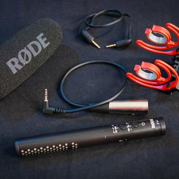 Rent Rode VideoMic NTG - Hybrid Analog/USB Shotgun Camera Microphone